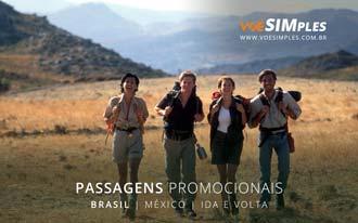 Passagens aéreas baratas para a Cidade do México
