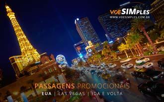 Promoção de passagens aéreas para Las Vegas