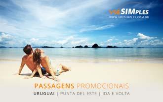 Passagens aéreas baratas para Punta Del Este