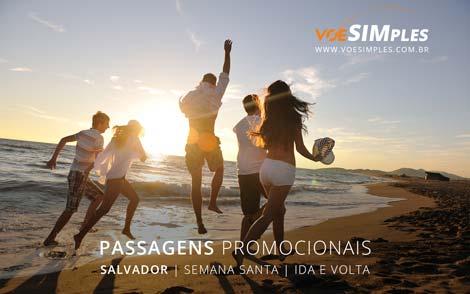 Passagem aérea promocional para Salvador na Semana Santa
