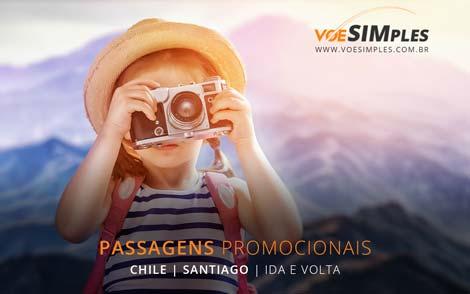 Passagem aérea promocional Chile
