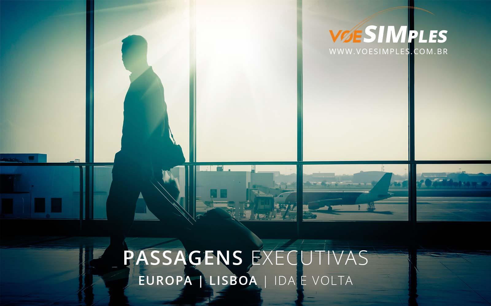 Passagem aérea classe executiva Air France e KLM