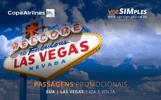 Passagens aéreas promocionais para Las Vegas