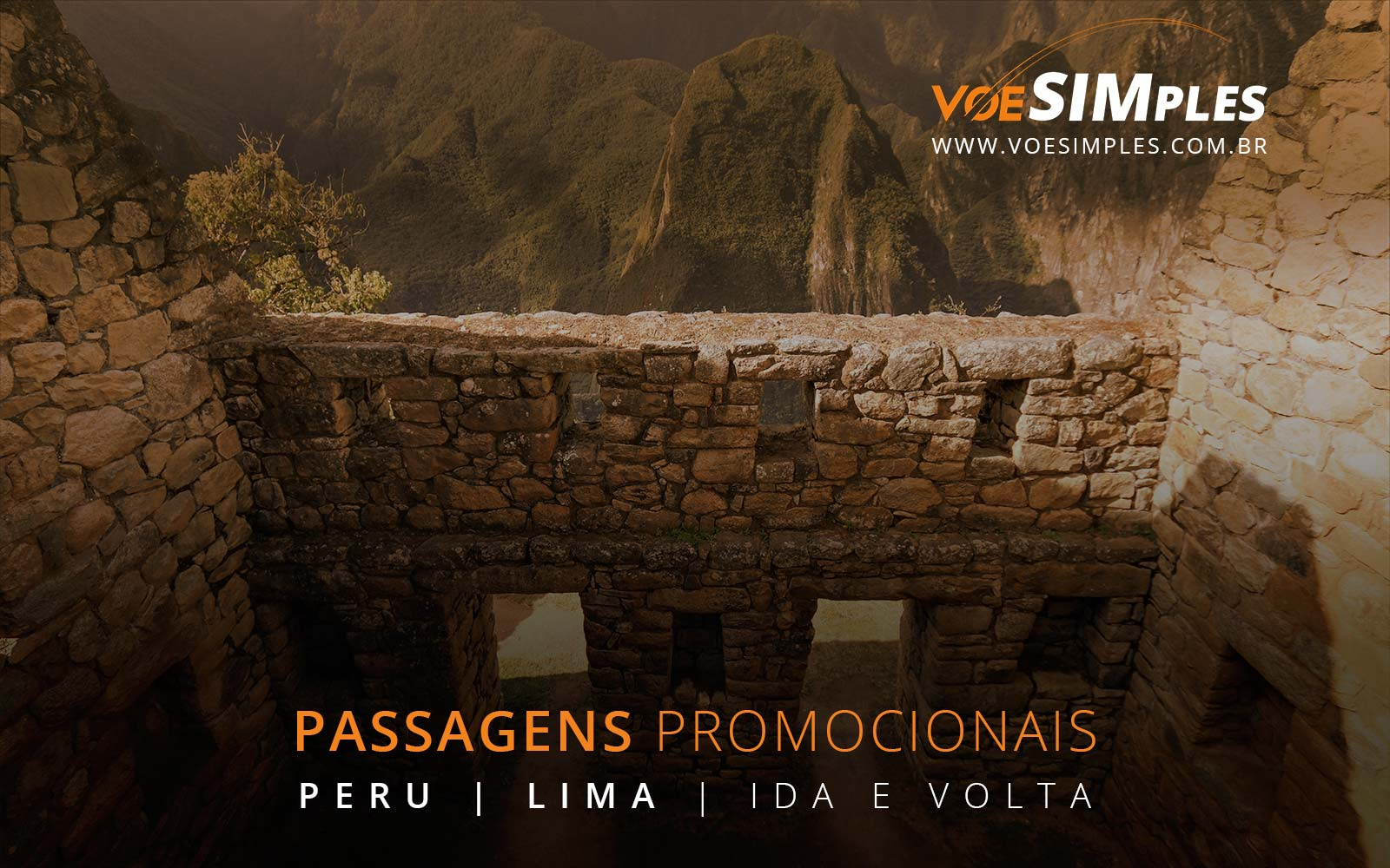 Passagens aéreas promocionais para Lima no Peru