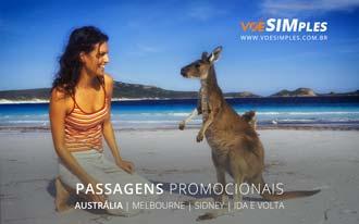 Passagens promocionais para a Austrália