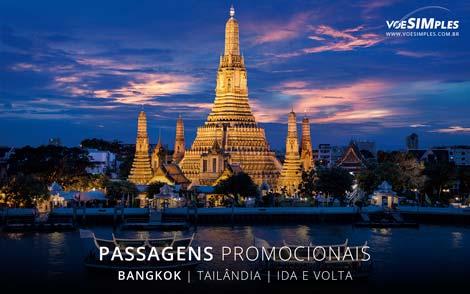 Passagem aérea promocional para Bangkok