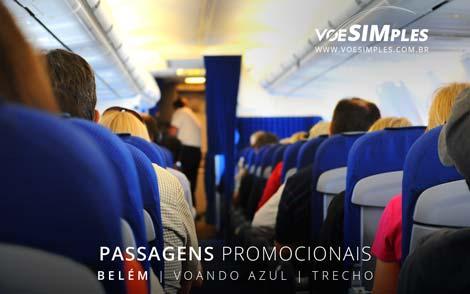 Passagem aérea promocional Azul de Macapá para Belém