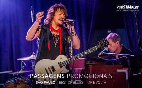 Passagem promocional para o Best of Blues