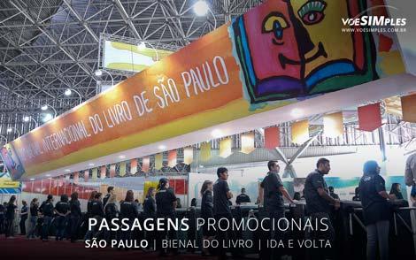 Passagem aérea promocional para São Paulo