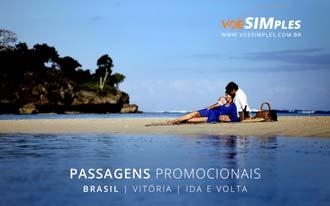 Passagem aérea promocional para Vitória