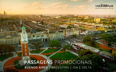 Passagem aérea promocional para Buenos Aires