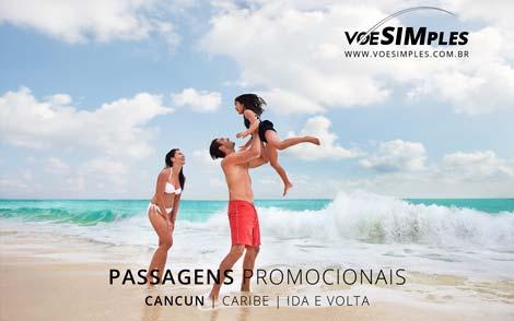 Passagem em promoção para Cancún