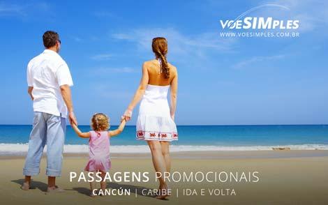 Passagem aérea em promoção para Cancún