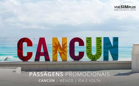 Passagem aérea para Cancun