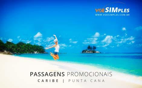 Passagens aéreas promocionais Caribe