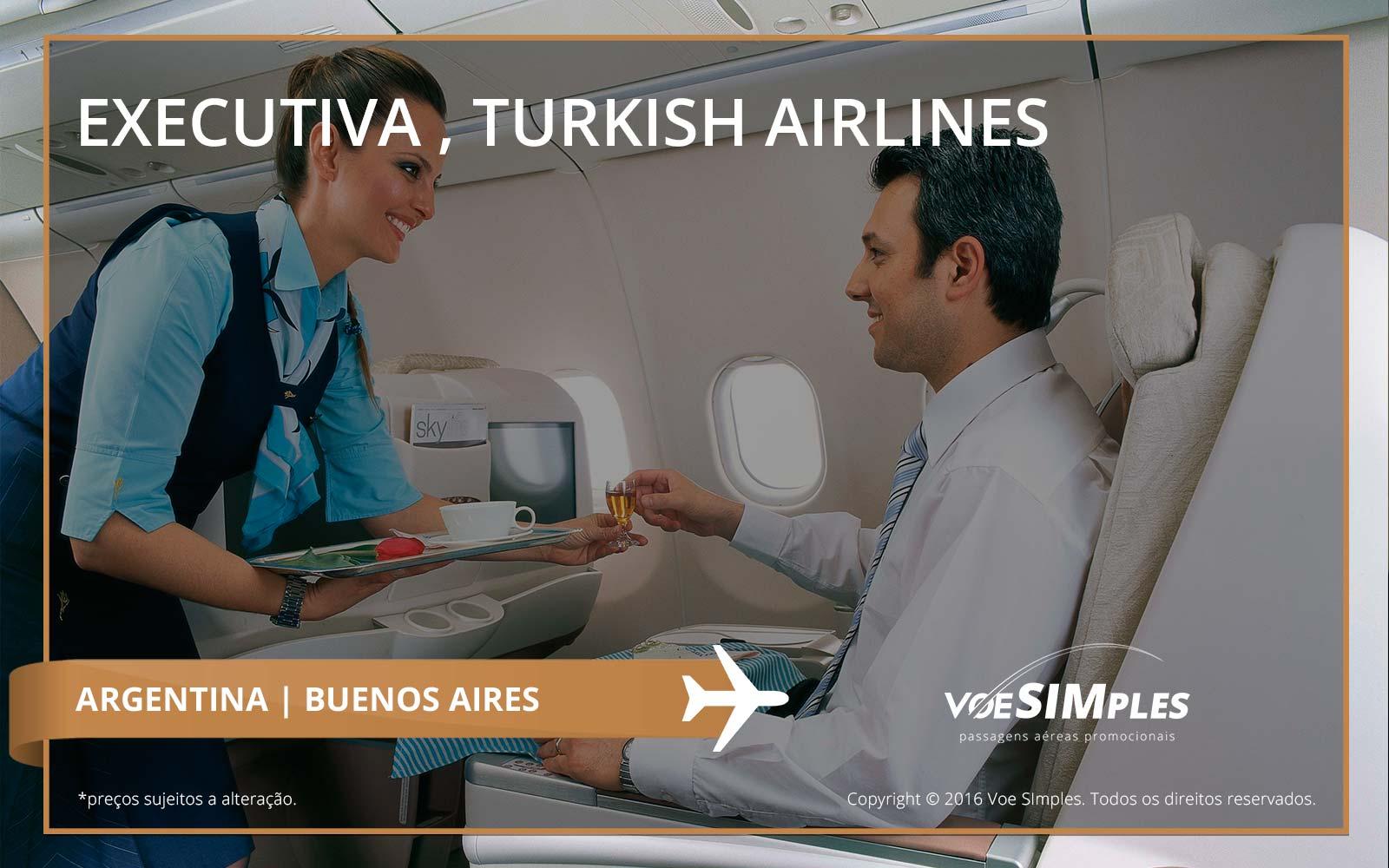 Passagem aérea classe executiva para Buenos Aires