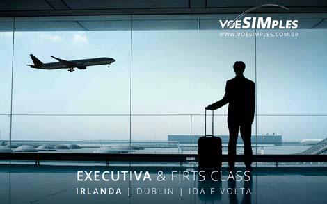 Passagem aérea Primeira Classe Lufthansa para Dublin