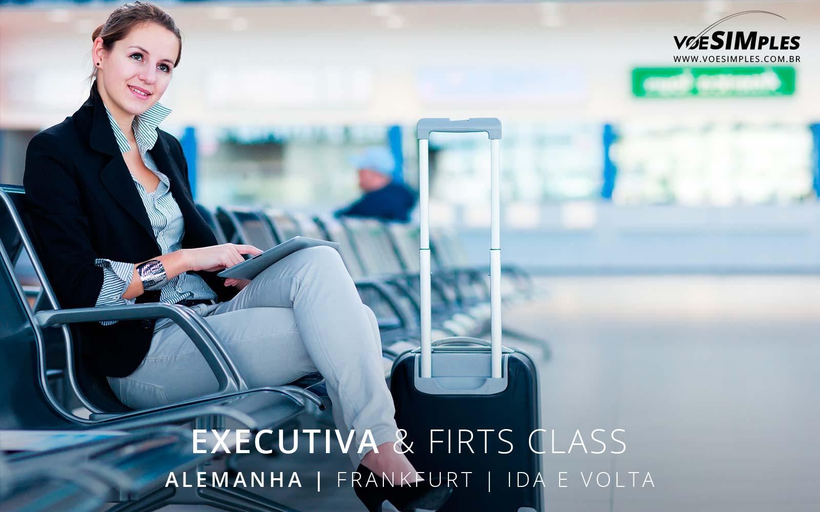 Passagem aérea Classe Executiva Latam para Frankfurt