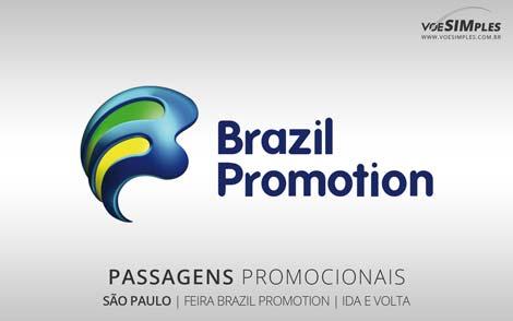 Passagem promocional para a Feira Brazil Promotion 2016
