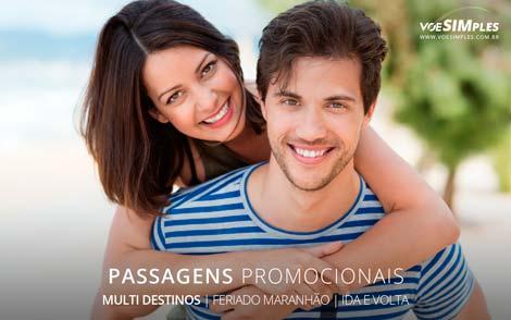 Passagem aérea para o Feriado do Maranhão
