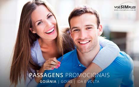 Passagem aérea promocional para Goiânia