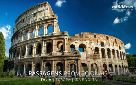 Passagem aérea para a Itália