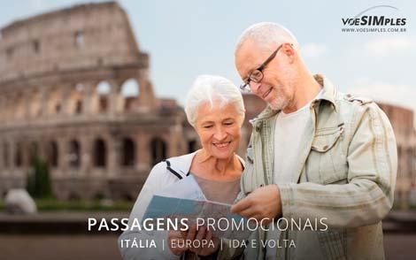 Passagem aérea promocionais para Itália