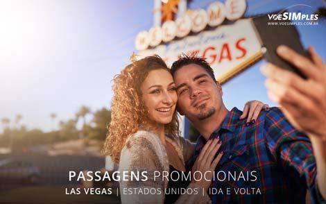 passagem aérea para Las Vegas