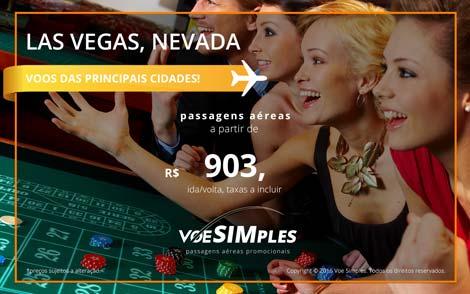 Passagem aérea promocional para Estados Unidos - Las Vegas