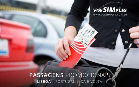 Passagem imperdível para Lisboa