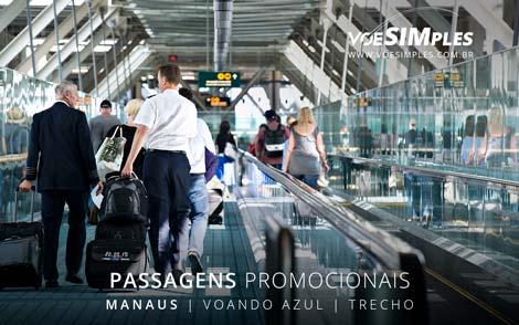 Passagem aérea promocional Azul de Parintins para Manaus