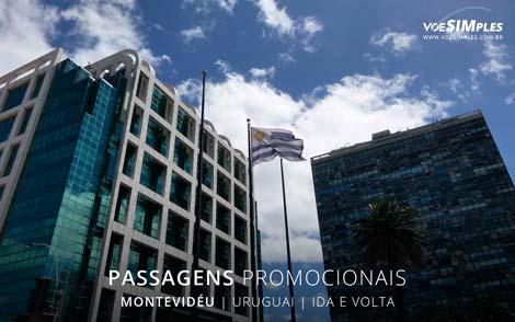 Passagem aérea promocional para Montevidéu