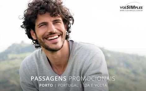 passagem aérea promocional para o Porto