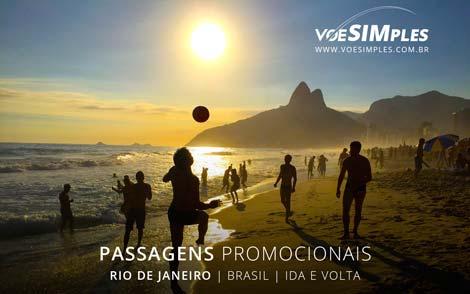 Passagem aérea promocional Feriado de Corpus Christi para Rio de Janeiro