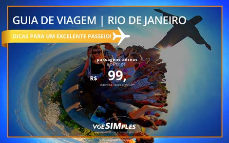 Guia de viagem Rio de Janeiro