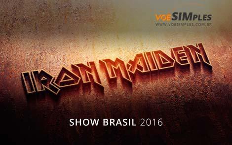 Show Iron Maiden Brasil 2016