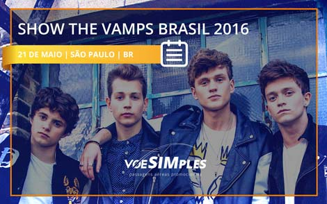 Show Banda The Vamps Brasil 2016