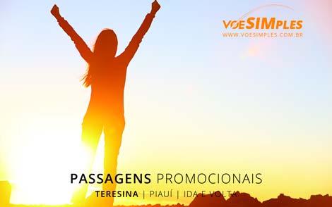 Passagem aérea promocional para Teresina