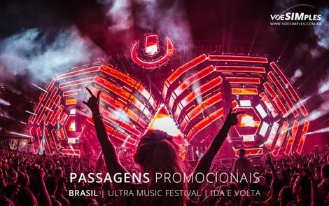 Voos promocionais para o Ultra Music Festival Brasil 2016