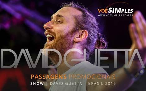 David Guetta no Brasil em 2016