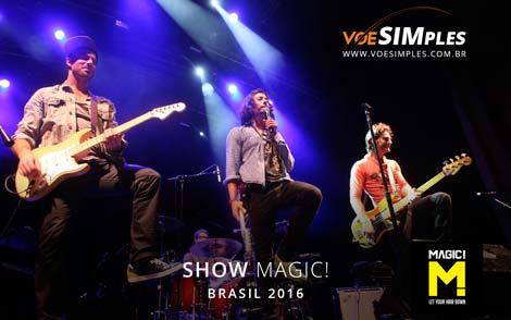 O Show do Magic! no Brasil em 2016