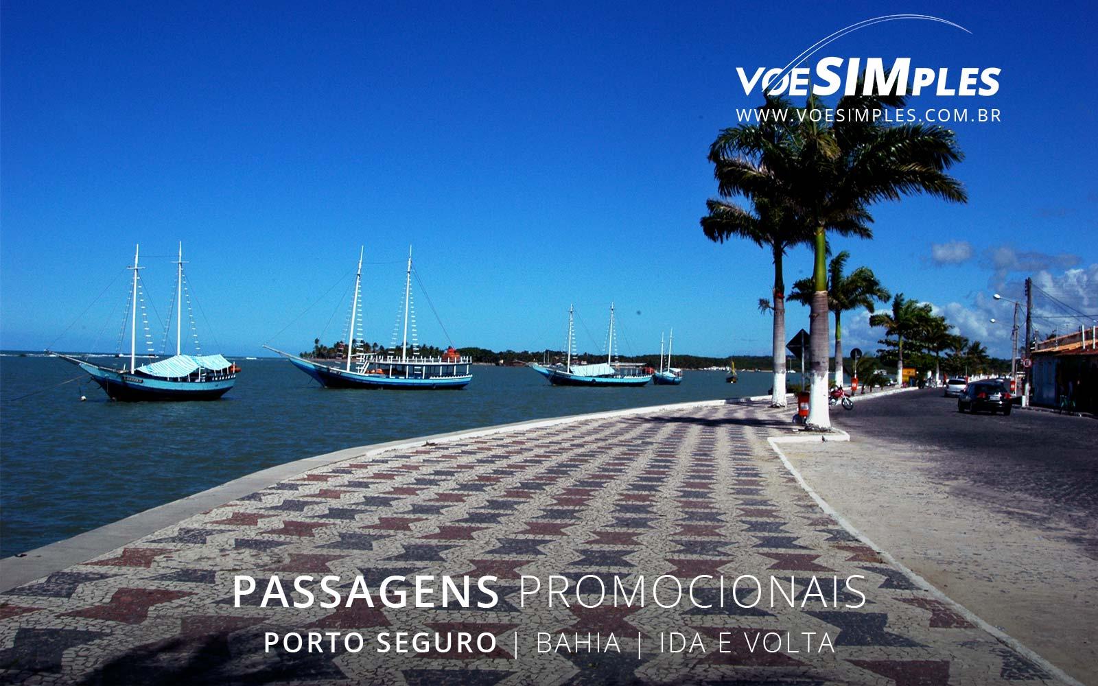 passagens aéreas para Porto Seguro saindo de São Paulo