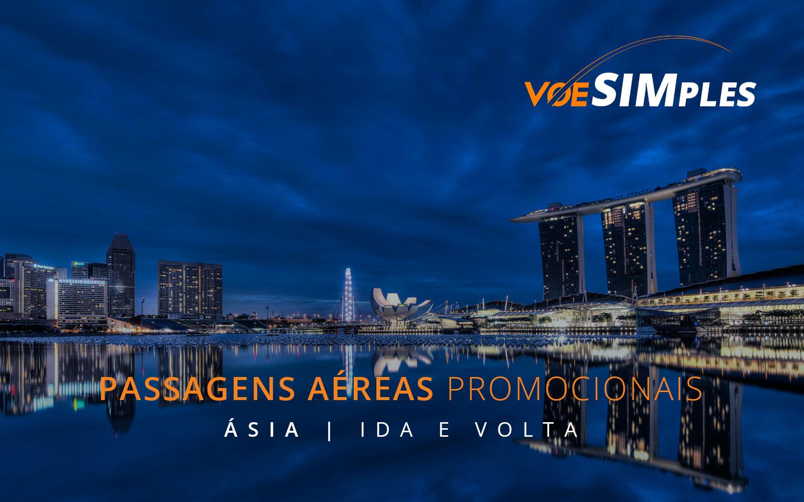 Passagens aéreas promocionais pela Ásia e Austrália