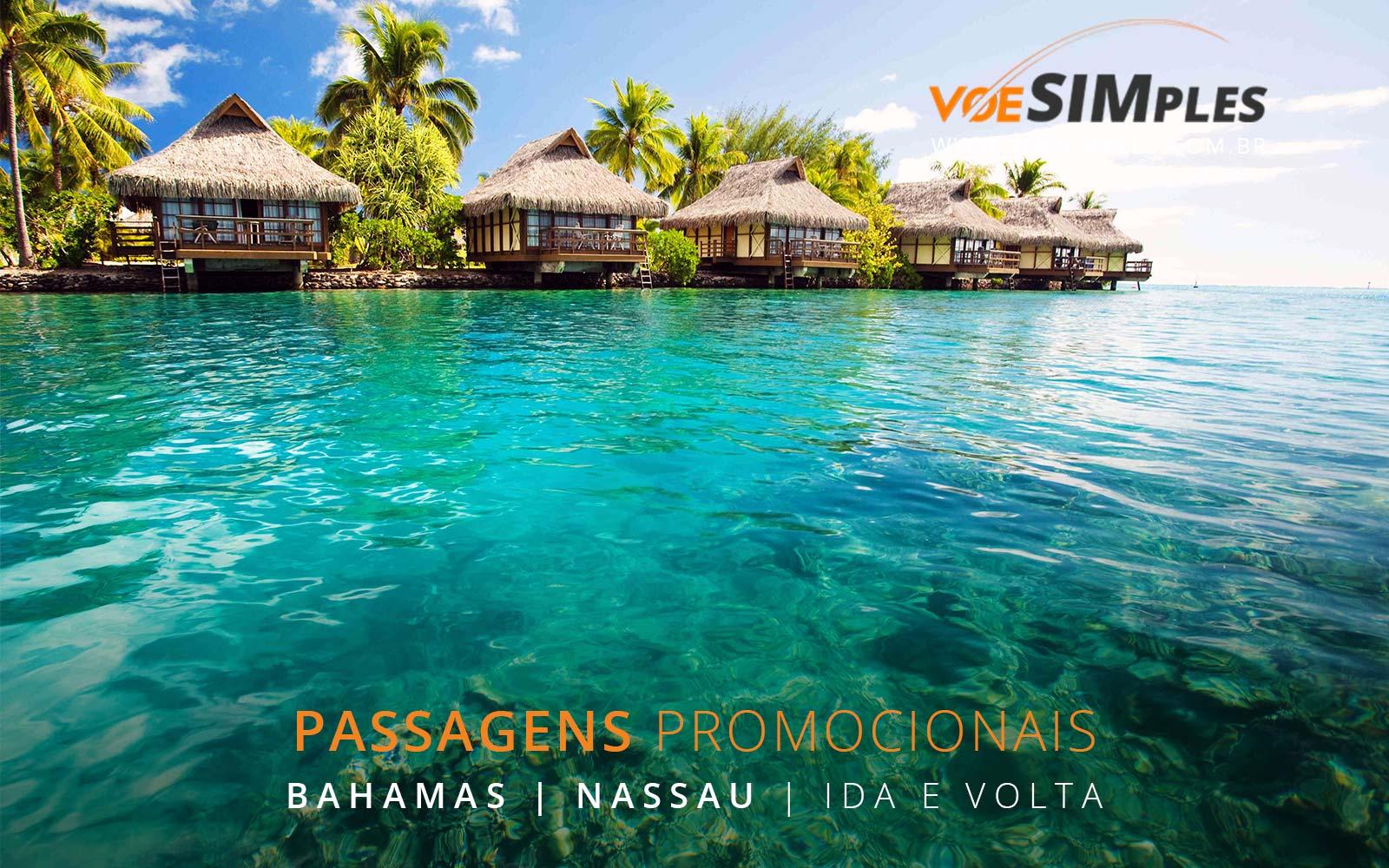 Promoção de passagens aéreas para as Bahamas