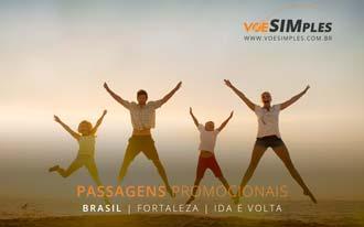 Fortaleza fica ainda melhor com os mini-preços Voe Simples!