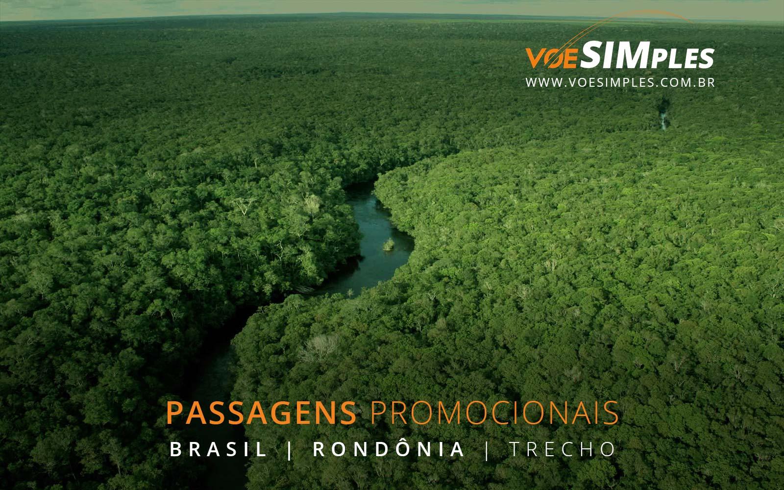 Passagens aéreas baratas para Porto Velho em Rondônia