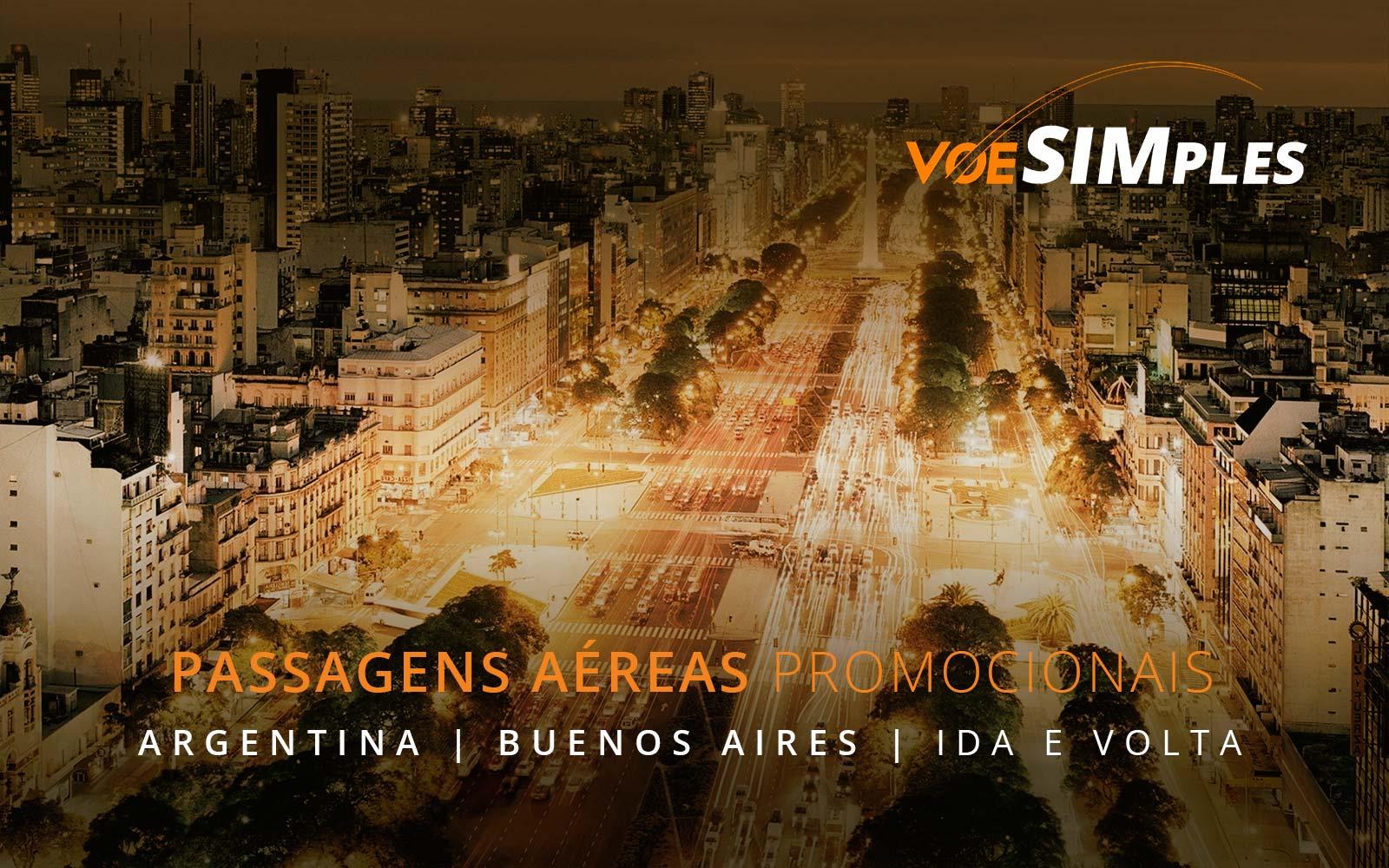 Passagens aéreas promocionais para Buenos Aires na Argentina