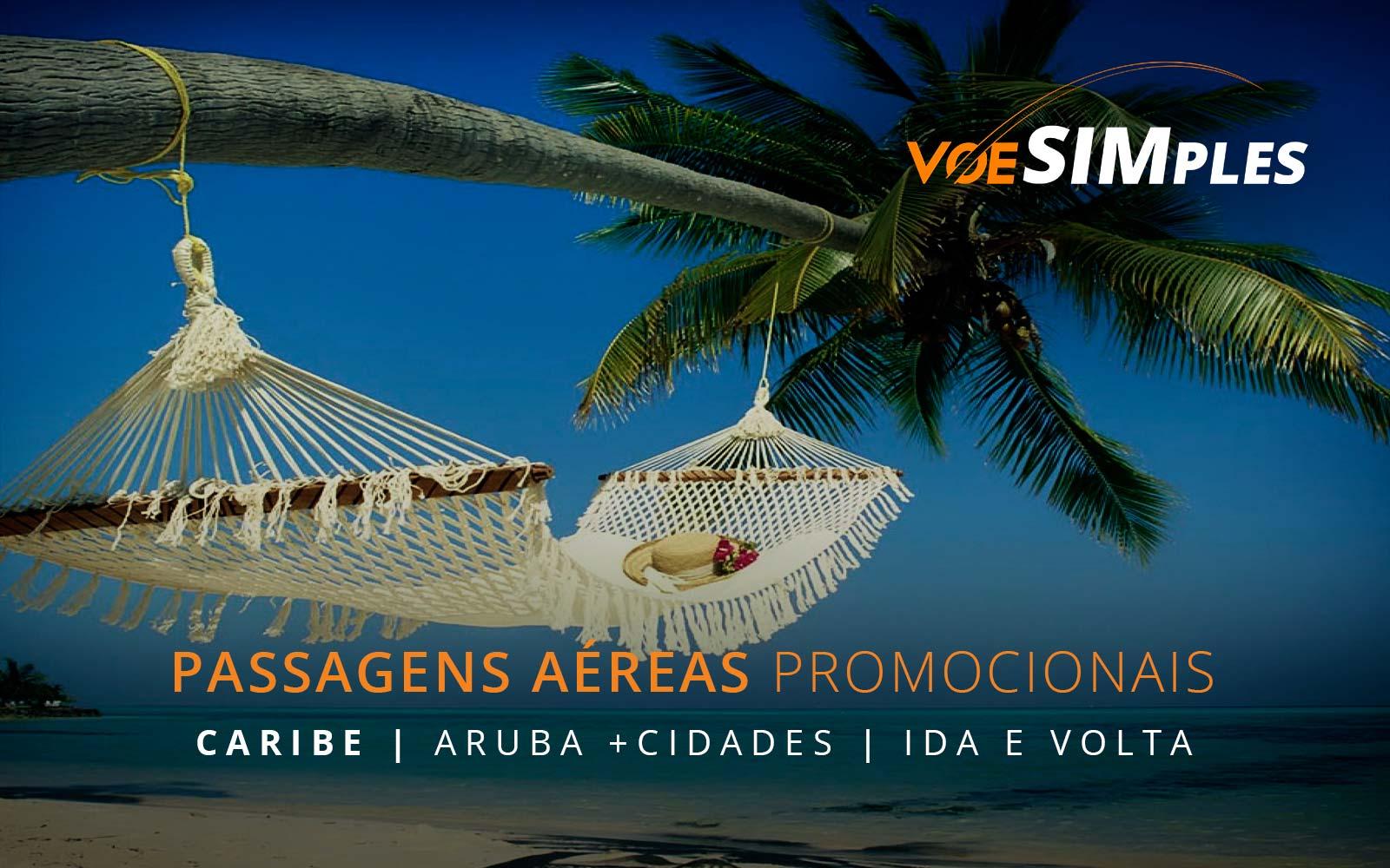 Passagens aéreas promocionais para Aruba, Curaçao, Havana, Punta Cana e Costa Rica no Caribe