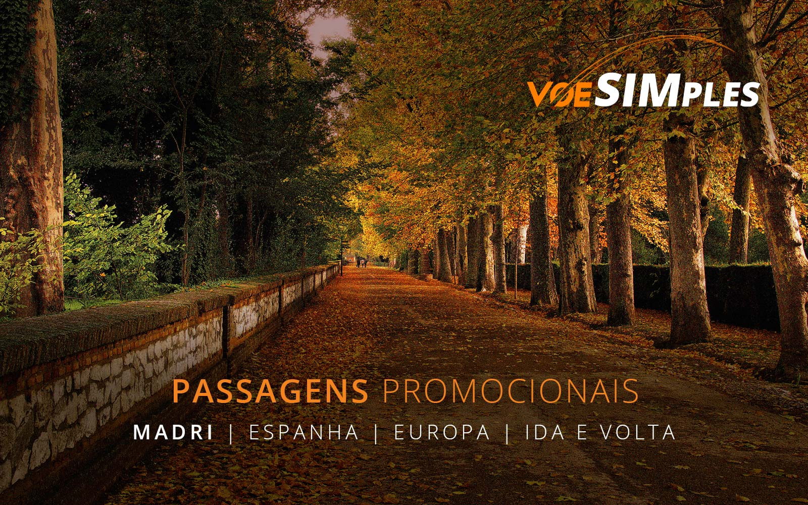 Promoção de passagens aéreas para Madri na Espanha