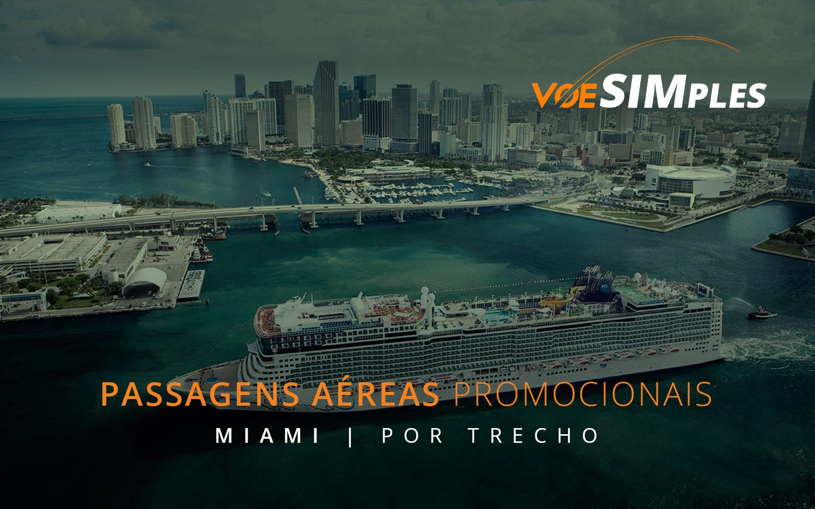 Passagens aéreas promocionais classe executiva para Miami